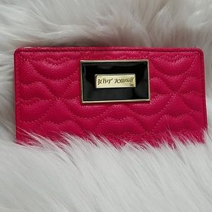 Betsey Johnson Pink Wallet
